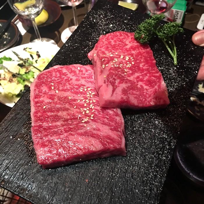 【食記】大腕燒肉.2018米其林一星.超級過癮的和牛全餐 @台北東區
