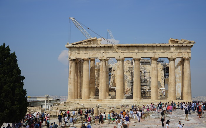【17 蜜月.希臘-雅典】- DAY3  雅典衛城(Acropolis).見識壯觀的帕德嫩神廟.必嘗希臘優格和咖啡