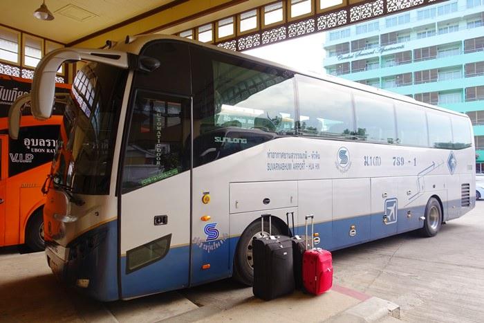 【15曼谷華欣.度假趣】- DAY3 最簡單舒適的曼谷<-->華欣交通工具.Bell Travel Service機場巴士心得分享