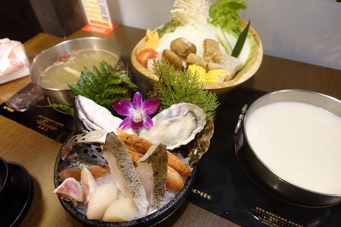【食記】武木精緻鍋物.料好新鮮CP值高.牛奶鍋+海鮮拼盤好大氣 @民生社區