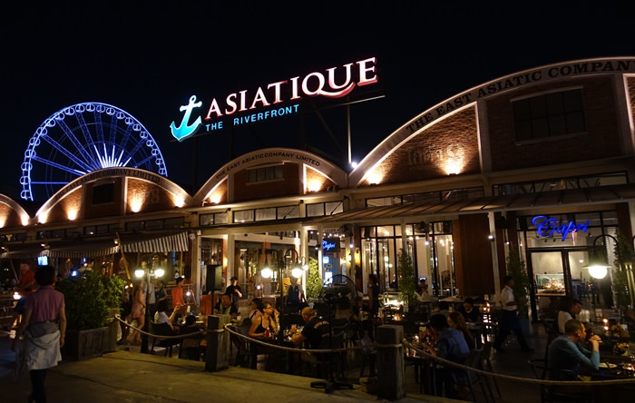 【15曼谷華欣.度假趣】- DAY2 Asiatique the Riverfront 碼頭夜市.吃喝玩樂一次滿足