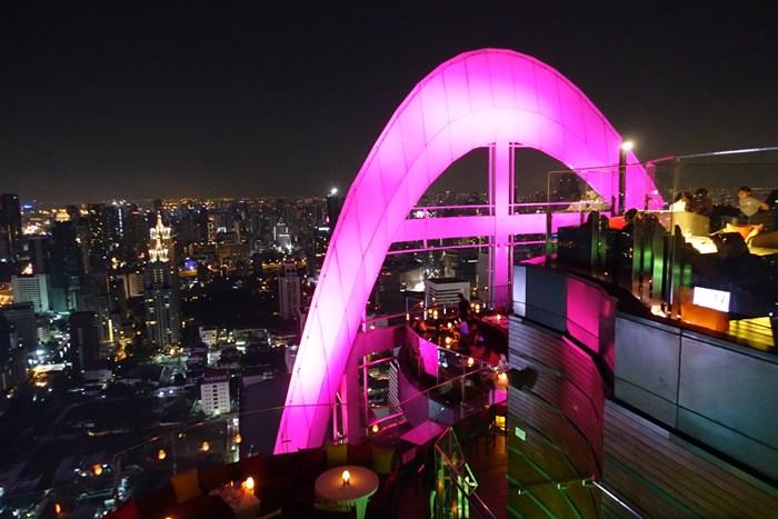 【15曼谷華欣.度假趣】- DAY2 Red Sky Bar.360度享受曼谷的高空夜景 @Centara Grand Hotel 55F