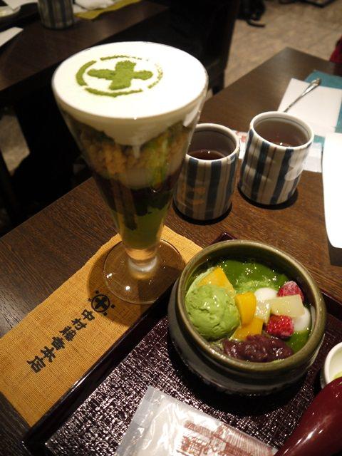 【13 春遊.櫻之關西 】- DAY4 京都必嚐的抹茶甜點-中村藤吉 @ 京都車站