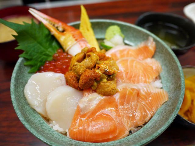 【13 秋日.楓遊東京 】- 築地市場的人氣海鮮丼。大江戶