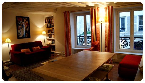 【巴黎】浪漫的巴黎之旅始於一間完美的公寓 (5, rue Guisarde, 75006)