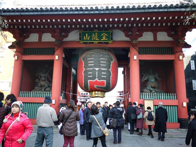 【13 雪見.姊妹遊東京 】- 漫遊淺草寺。仲見世通
